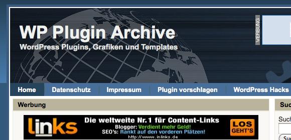 WP Plugin Archiv